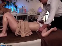 Japanese 18yo's massage is going too far