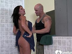 After she devours his boner, he will fuck her tight wet pussy however he desires.