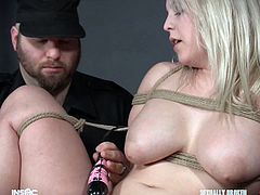 Taylor is enjoying this far more than others might, perhaps more than she should. Her legs are held open so her executor can hook her pink hole, vibe above her clit, and have a suction pump directly on it. The only surprise so far is that she hasn't soaked everything down in her juices already.