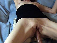 Creamy Female Ejaculation Cum Fucking Machine Mature Wife