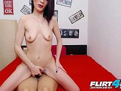 Lesbian Strap-On a Dildo and Lick Each Other Senseless