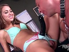Riley Reid strap on