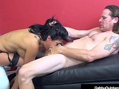 MexiMilf Gabby Quinteros Gets Filthy With A Big Hard Cock!