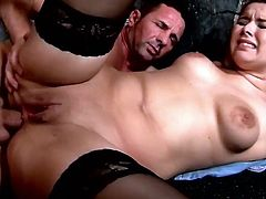 Horny blond chick Nikki Dream is fucked hard by hot blooded guy