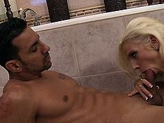 Busty Lylith LaVey is plowed in a pristine bathroom