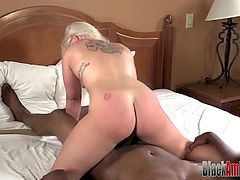 Married Blonde Cheater Ass Fucked By a Big Black Cock