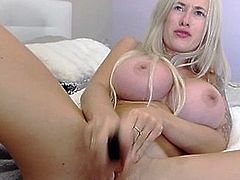 Super big-tits webcamgirl