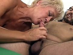 This MILF does special photography sessions with young male models. Whenever she feels horny she never hesitates to ask the male model shes working with to remove his cloths and pose for nude photos. This is also a great chance for her to grab his dick and suck for good untill cumload is released.