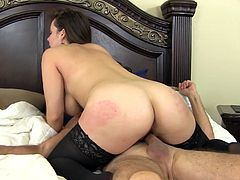 Natasha Nice's gaping pussy is all a guy wants to plow