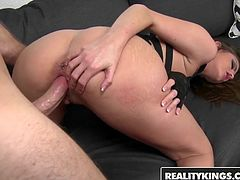Brooklyn Chase - Teen shows off her new Fetish outfit