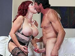 Slutty milf Sexy Vanessa can't get enough of a delicious dong
