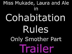 Cohabitation Rules  - Smother and Femdom Humiliation