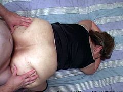 Fucking Your Big Tit Mexican Granny's Ass Hole