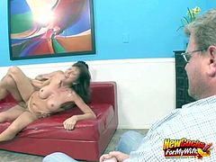 Desi Foxx Facialed By Another Man