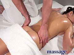 Massage Rooms Big orgasms for wild Russian nymphomaniac fuck