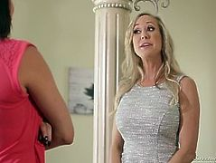 Brandi Love 'helps' Peta Jensen