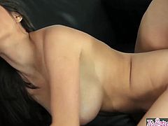 When Girls Play - Melanie Rios and Nina James lick each