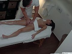 They have no idea they are being watched. You will be shocked when you see what's going on inside! Almost every massage ends with fucking! Watch the shocking reality!