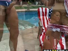 Audrey Bitoni Danny Mountain - Fucked on the Fourth of July - Brazzers
