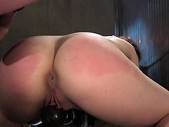 Innocent babe got her tight ass punished