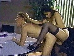 Femdom wife strap-on punishment for hubby KOLI