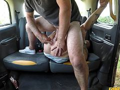 Are you ready for our brand new, thrilling, hot and heavy website? Join and enjoy how our intrepid guys drive around looking to get sex for fares. In this video, Tory Candi Jackson gets fucked right in the back seat of a car. Hot stuff!