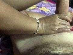 Big Dick Guy gets a Massage Part 3  She is a Cock Expert