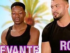 Celebrity hunks Devante Rob and Jordan fully nude scene