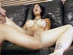 Step mommy makes her squirt hard
