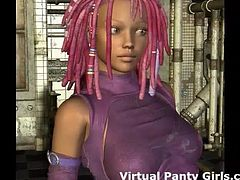 I can be your personal virtual stripper girl