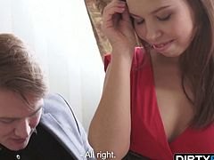 Dirty Flix - Iva Zan - Courtesan plays it perfectly
