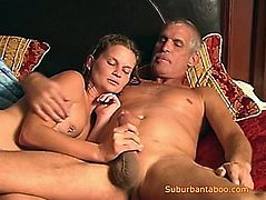 Taboo dad and daughter wicked