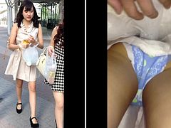 Upskirt6 - pretty panty with face