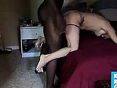 Wife takes and serves BBC
