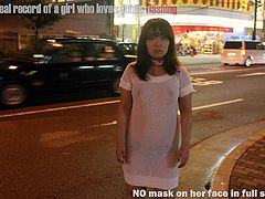 Japanese chubby girl public flashing slide show6