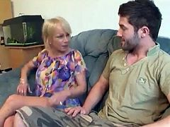 Jane at it Again horny mature slut fucking a younger dude