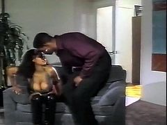 Big tits ebony daughter gets fucked by stepdad BBC