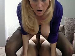 Amazing MILF with Big Clit Still Likes To Receive Creampie