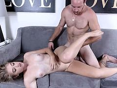 Hardcore punish gangbang and dirty office threesome first