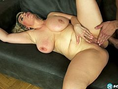 huge saggy tit milf gets fucked by big cock