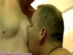 Massive dick amateur pounding Joes tight ass