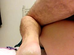 Anal Punishment Fuck of my Wife