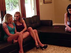 One of the best things about being a foster mom is getting to fuck all your girls! Watch Tanya as she teaches her new foster daughter everything!