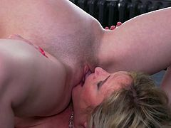 Alisha Rydes is much older than her new lesbian lover, but the experienced mature knows how to give Alessandra real pleasure and therefore allows her to sit on her face and gently licks her lover's wet pussy... Join and have fun!