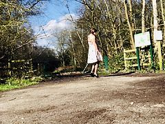 Walk on a dogging place