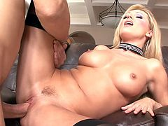 Hot blonde Diana getting some cock.